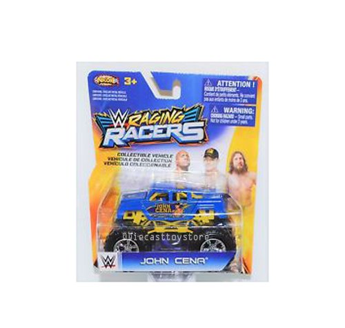 NKOK 1:64 WWE RAGING RACERS MONSTER TRUCK JOHN CENA 66701 by NKOK