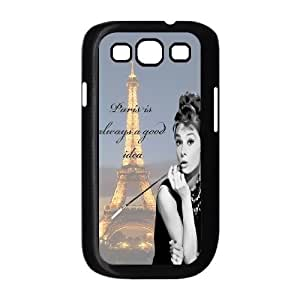 Audrey Hepburn Quotes Use Your Own Image Phone Case for Samsung Galaxy S3 I9300,customized case cover ygtg-781026