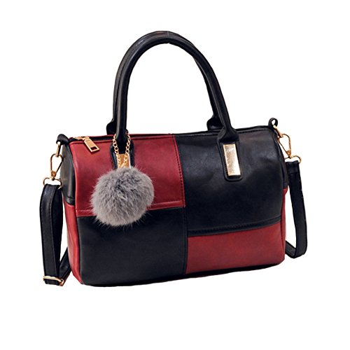 C-Pioneer Ladies Leather Shoulder Bag Tote Messenger Crossbody Satchel Women Handbag Purs (Cheap Designer Bags)