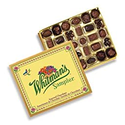 Whitman\'s Sampler Assorted Chocolate, 24-Ounce Box