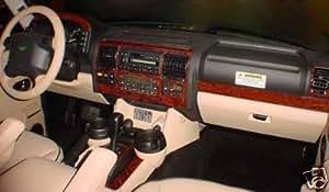Land Rover Discovery Interior Wood Dash Trim Kit Set 1999 2000 2001 2002 2003 2004