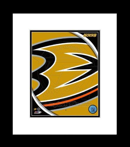 Anaheim Ducks Team Logo Framed Picture 8x10
