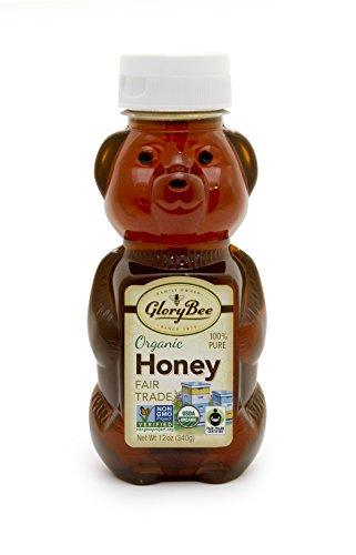 Glory Bee Honey (GloryBee OG Fair Trade Honey Bear, 12-ounce)