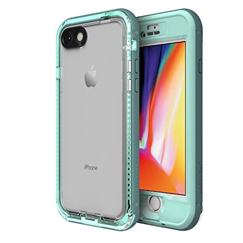 LifeProof NÜÜD Series Waterproof Case for iPhone 8 (ONLY) - Retail Packaging - Cool Mist (Aqua SAIL/Aquifer/Clear) (Lifeproof Iphone 5 Case Vs Otterbox Defender)