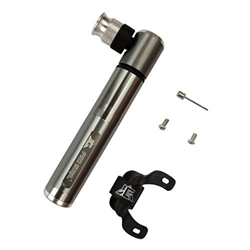 Flameer 多機能 コンパクト ポータブル ポケット 自転車 サイクリング 自転車 空気ポンプ ボールインフレータ