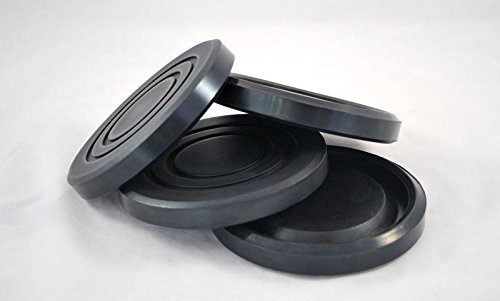 "Lift Pads For Globe, Round Rubber Pad (5 1/2"" x 3/4"")"