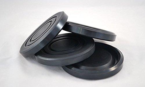Prothane 19-1405-BL Black 5 Jack Pad