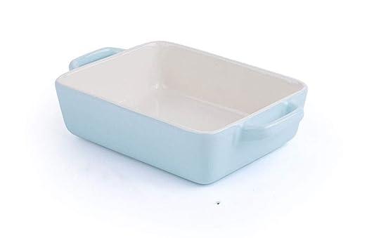 Wuzhengzhijie Tazón de cerámica for Hornear doméstico, tazón de ...