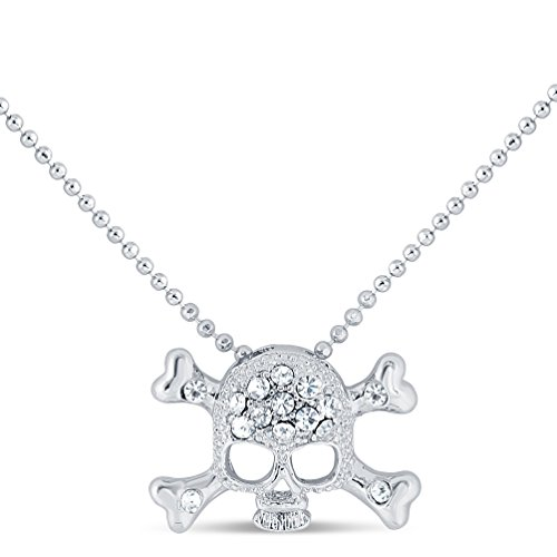 My Lifestyle themed - Pendant with Necklace - Premium Quality by Conceited (Skull and Bones) Skull Premium Teddy Bear