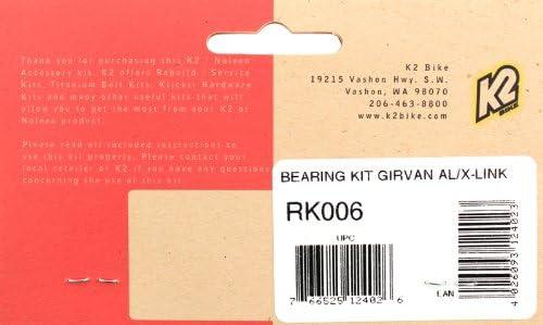 K2 NOLEEN Pro-Flex RK006 Bearing Kit Girvan AL//X-Link