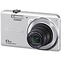 CASIO digital camera EXILIM EX-ZS27SR wide-angle 26mm optical 6x zoom premium auto 16.1 million pixel Silver [International Version, No Warranty]