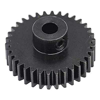 Hot Racing NSG3234 34T Steel 32p Pinion Gear 5mm Bore: Toys & Games