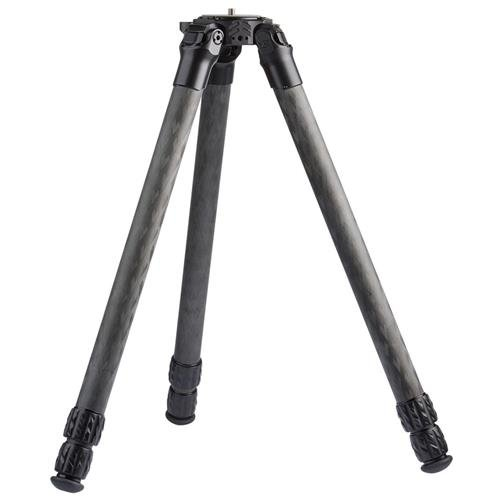 ProMediaGear Pro-Stix 34 Series 51'' 3 Section Carbon Fiber Tripod with 34mm Diameter Legs, 60 lbs Capacity by ProMediaGear