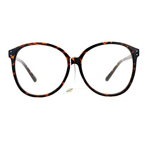 SA106 Womens Oversize Manga School Girl Nerdy Eye Glasses - Girl Nerdy Glasses
