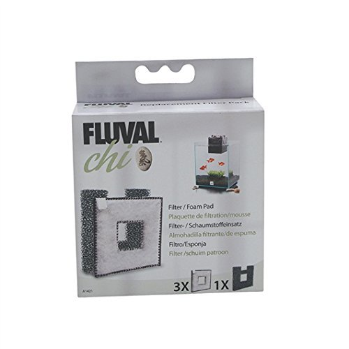 (Fluval Chi Filter Pad, Foam Pad 4 Pack Value Pack)