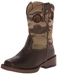 Roper Camo Cowboy Square Toe Camo Cowboy Boot (Toddler/Little Kid/Big Kid)