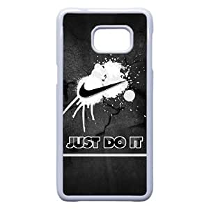 Samsung Galaxy S7 Edge Phone Case White Just Do It Case Cover PP7U361105