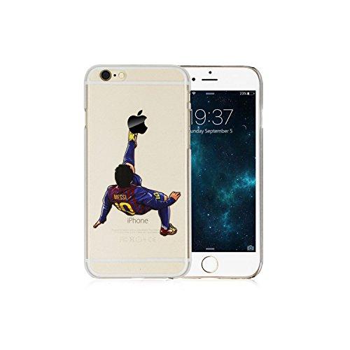 Se Ball (FIFA SOCCER Football Star Messi Ronaldo Neymar Transparent Hard Case Cover for Apple iPhone 5/5s/SE, iPhone 6/6s (4.7inch) & iPhone 6/6s Plus (5.5 inch) (iPhone 6/6s Plus 5.5 inch,)
