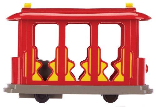 Amazon Daniel Tigers Neighborhood Trolley With Tiger Figure Toys Games