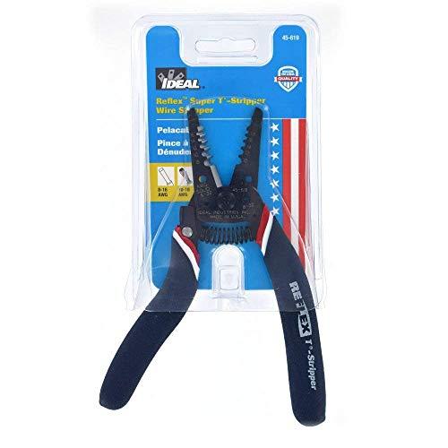 Ideal Wire Stripper - Ideal 45-619 Reflex Super T-Stripper Wire Stripper