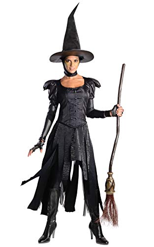 Rubie's Costume Disney's Oz The Great and Powerful Adult Deluxe Wicked Witch Of The West Dress and Hat, Black, X-Small -