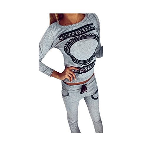 Con Donne Outfits Activewear A Sport Tops Palestra 1 Pants V Scollo Stabilite moda Koly 5xAYwZOqA
