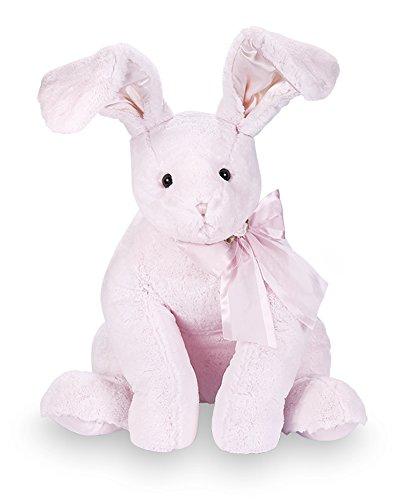 Bearington Baby Cottontail Lullaby Animated Musical Plush Stuffed Animal Pink Bunny 13