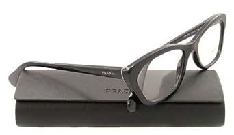 Prada Eyeglasses VPR 03Q Black 1AB-1O1 PR03QV