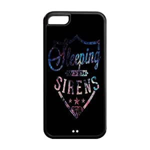 Diy design iphone 6 (4.7) case, Mystic Zone Bring Me the Horizon Cover Case for Apple iPhone 6 -(Black and White) -MZ5C00938