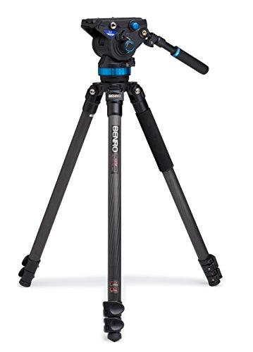 Benro S8 Single Leg Carbon Fiber Video Tripod Kit (C373FBS8)