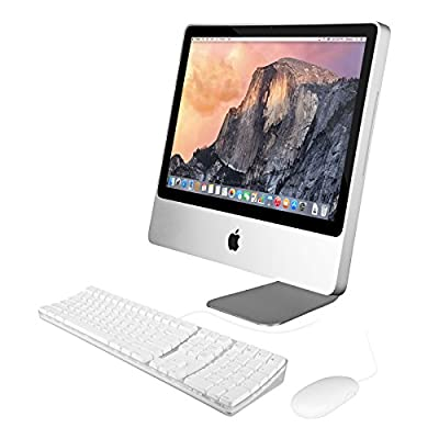 "Apple iMac 20"" Core 2 Duo P7550 2.26GHz 4GB 160GB All-in-One Computer - MC015LLB (Certified Refurbished)"