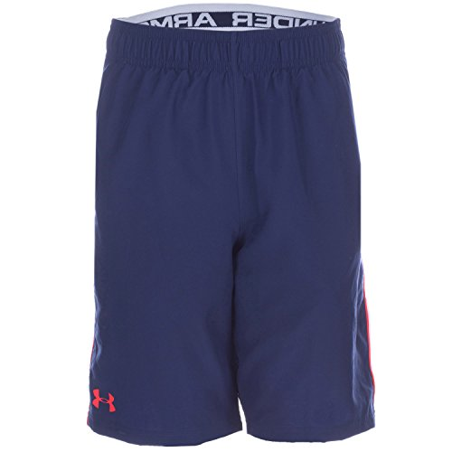 Under Armour Boy's Edge Shorts 6-7 Blue by Under Armour