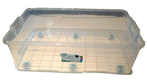 (Hobby Life Multi Rectangular 30 Litre Storage Box with Wheels)