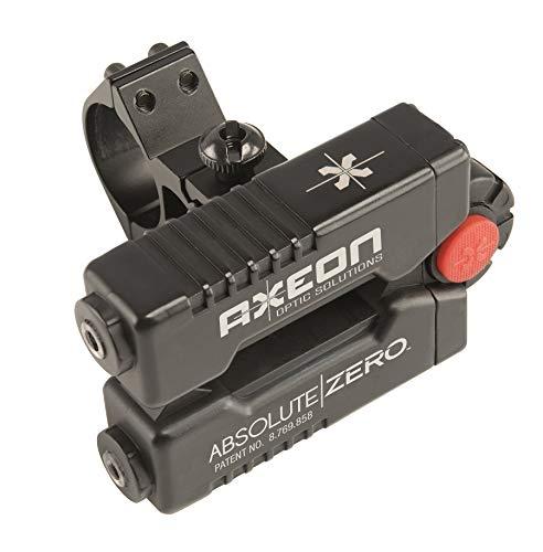 Axeon Optics Absolute Zero Easy One-Shot Laser Rifle Zeroing Device for Rifle Scopes, Absolute Zero Device (8 x 3 x 4.5…