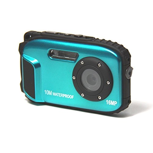 Waterproof camera,Bigaint BG003 16MP 8x Zoom Cameras 2.7 Inch LCD Digital Camera 10m Underwater Waterproof Camera --Blue Aqua Vu Underwater Camera Accessories