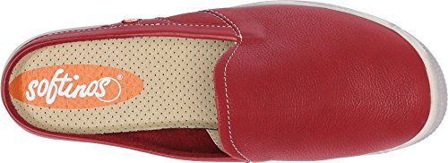 Leather IMO447SOF London Fly Smooth Red Womens EBzqX