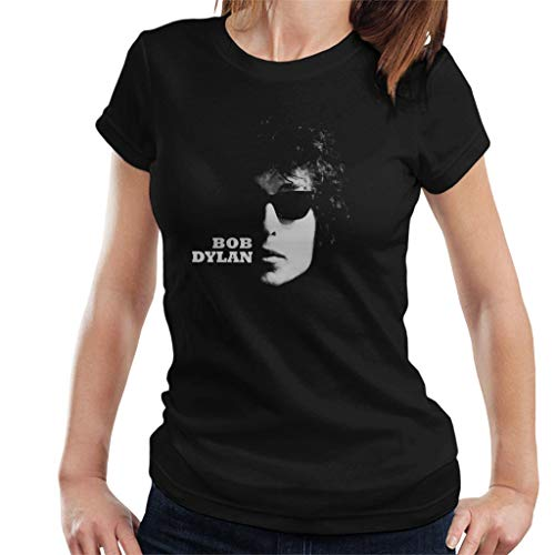 Bob Dylan Sunglasses Shot Women's T-Shirt Black