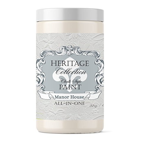 Manor House, Heritage Collection All In One Chalk Style Paint (NO WAX!) ()