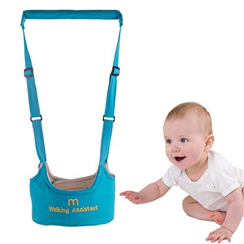 Arnés de Bebé Entrenador para Camina,Arnés de Seguridad a Pie de Aprendizaje Chaleco Asistente Niños Andador Pies del Niño (Azul)
