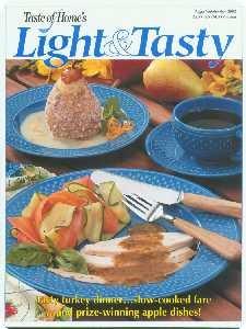 Taste Of Home's Light & Tasty Magazine August / September 2002 ebook