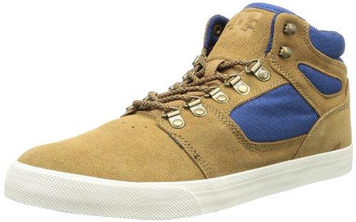 DC RESET HI LE SHOE 303200-BNB - Zapatillas para hombre BROWNBLUE