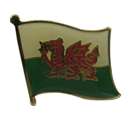 Wales Single Lapel Pin (Wal Painted Finishes)