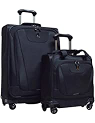 Travelpro Maxlite 4 2-Piece Luggage Set: 25 Expandable Spinner & Easy Carry On Under Seat Bag