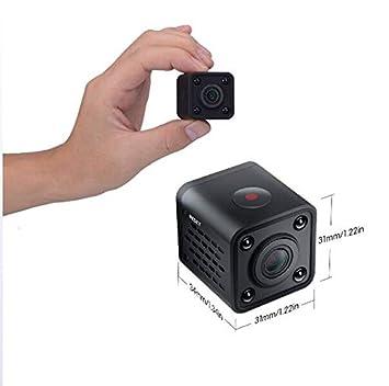 GAX Mini Cámara, Visión Nocturna De 1080P Y Detección De Movimiento Cámara De Vigilancia De Seguridad Casera, Cámara De Vigilancia Remota Móvil: Amazon.es: ...