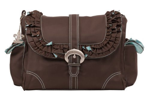 Kalencom–Miss Prissy hebilla bolsa Chocolate/Pink Talla:talla única Chocolate/Blue