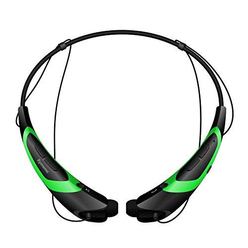 Bluetooth Headphones Rymemo Earphones Green Black product image
