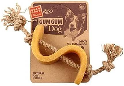 Gigwi Gum Gum Dollar Hemp Rope Dog Toy