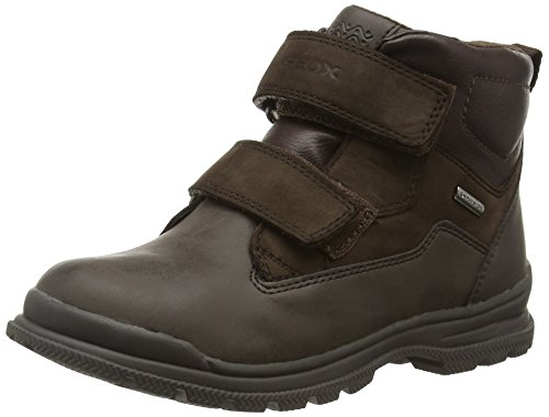 Geox Kids' Jr William B Abx 5-K Rain Boot - Coffee/Dark B...