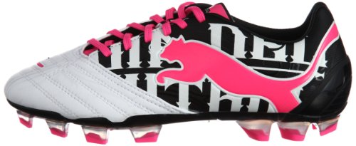Puma Powercat 1grafico Firm Ground Scarpa da Calcio [] Rosa Fluo, Pink, 10 UK