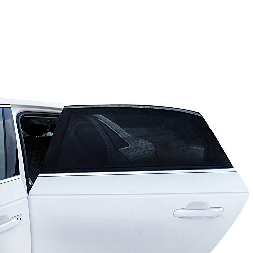 Why Should You Buy Car Window Shades - Car Sun Shade for Baby 2 Pack Breathable Rear Window Sun Shad...